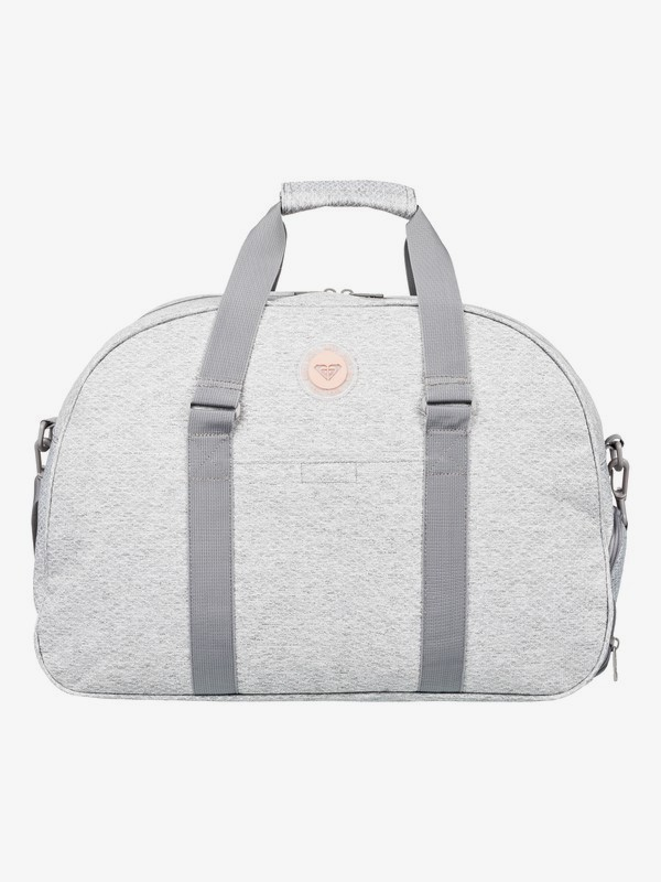 0 Feel Happy Heather 35L - Petate Deportivo Mediano Gris ERJBP03855 Roxy