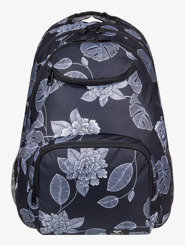 0 Shadow Swell 24L Medium Backpack Black ERJBP03921 Roxy