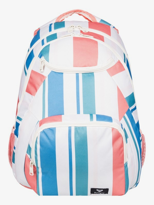 0 Shadow Swell 24L Medium Backpack White ERJBP03921 Roxy