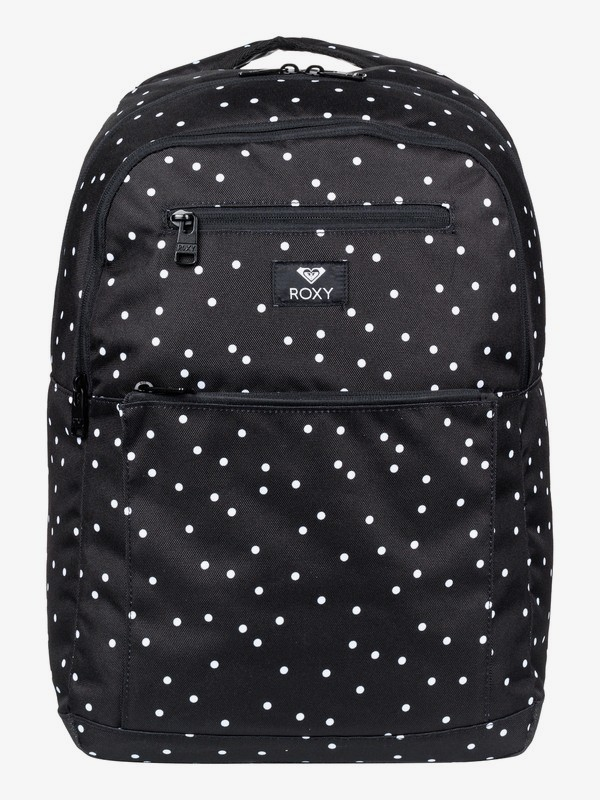 0 Here You Are 23.5L Medium Backpack Black ERJBP04015 Roxy