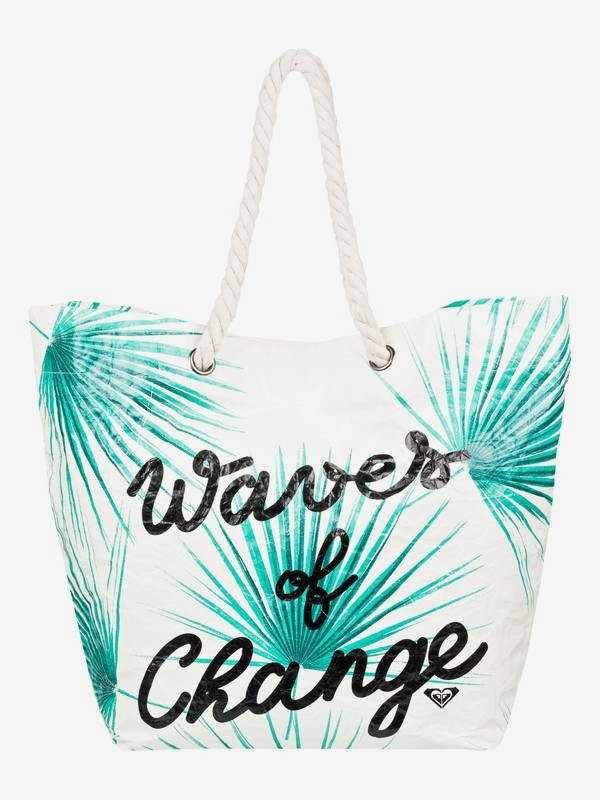 Waves Of Changes - Reversible Recycled Beach Bag  ERJBT03125