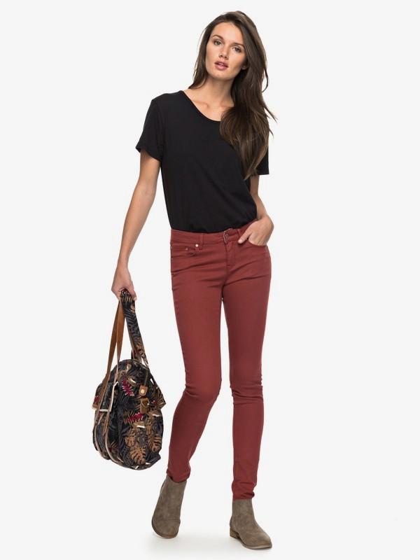0 Suntrippers Colors Skinny Fit Jeans  ERJDP03158 Roxy