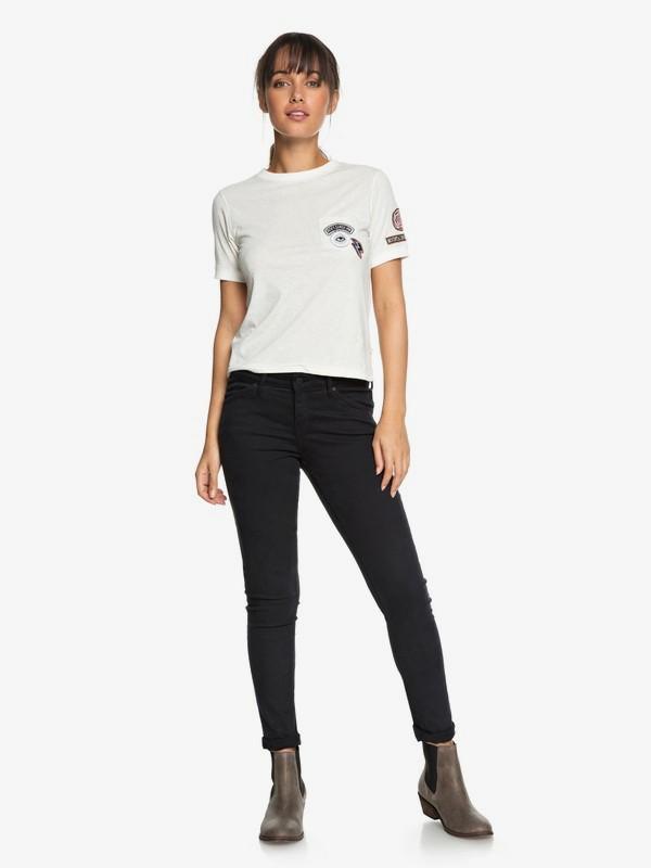 0 Seatripper Skinny Fit Jeans Black ERJDP03182 Roxy