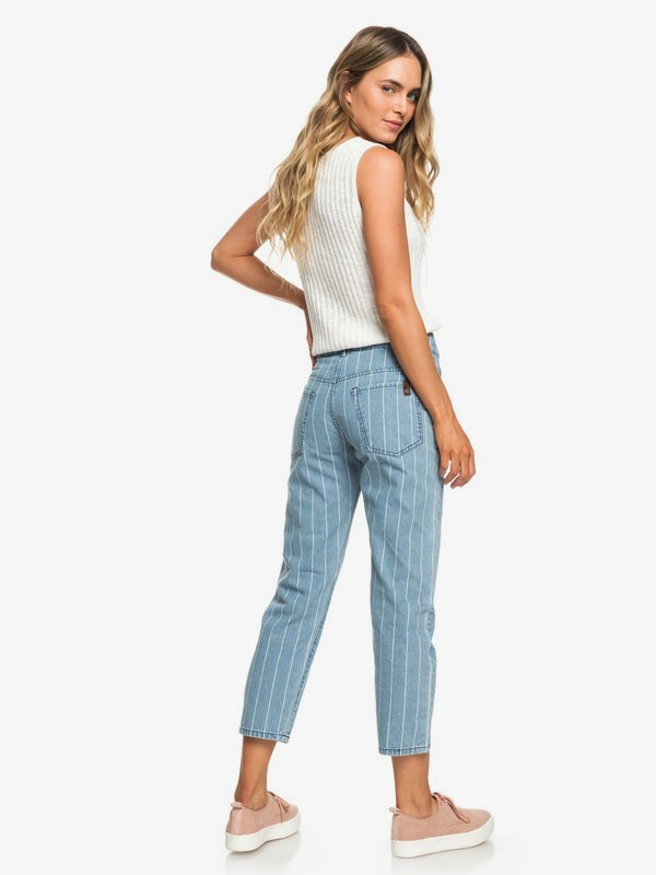 0 Like A Boy Relaxed Fit Jeans Blue ERJDP03215 Roxy