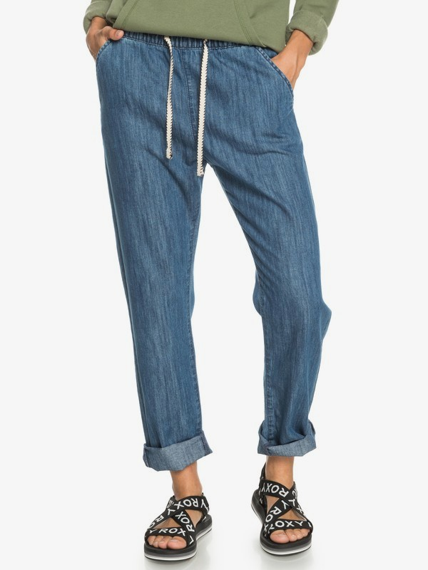 Slow Swell Beachy Beach - Relaxed Fit Jeans for Women  ERJDP03253