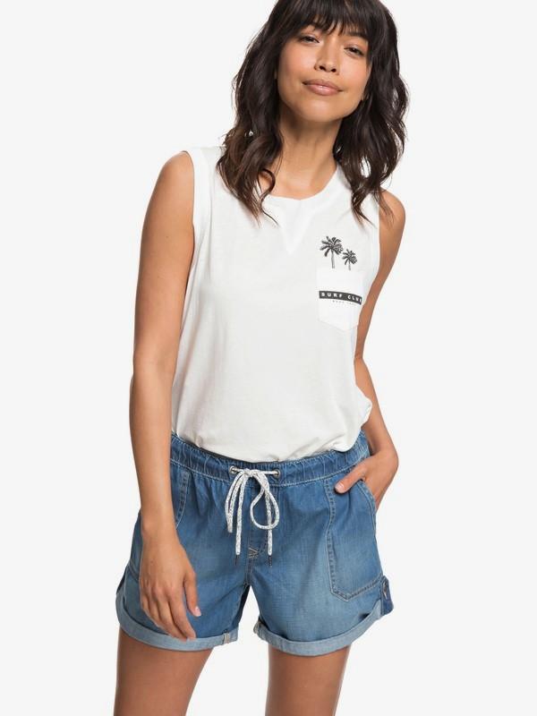 0 Arecibo - Short en denim pour Femme  ERJDS03191 Roxy