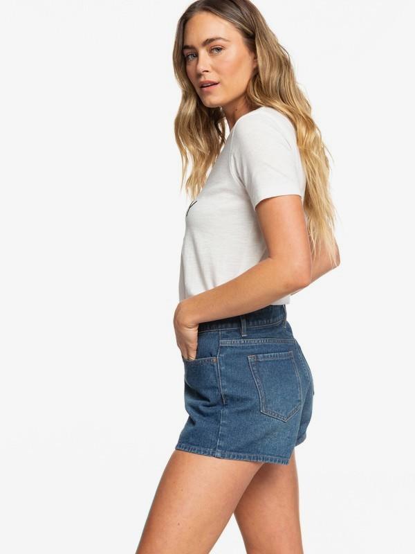 0 My Best Friend - Denim Shorts for Women Blue ERJDS03197 Roxy