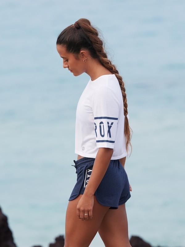 "0 Live In Sumatra B 3"" - Workout-Shorts für Frauen Blau ERJFB03209 Roxy"