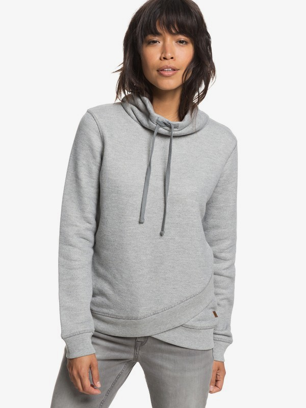 0 Sudadera Cuello Alto Seasons Change Gris ERJFT03808 Roxy