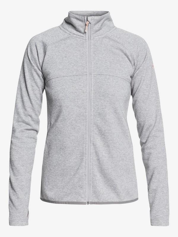 Harmony Shimmer - Technical Zip-Up Fleece for Women  ERJFT03856