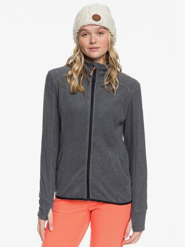 Harmony - Zip-Up Mock Neck Fleece for Women  ERJFT03963