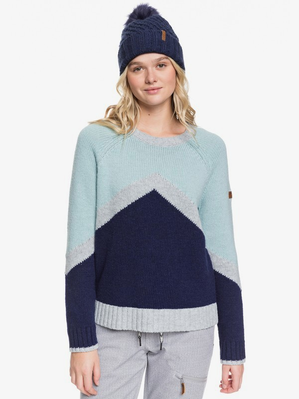 0 Cozy Sound - Technical Jumper Blue ERJFT03965 Roxy