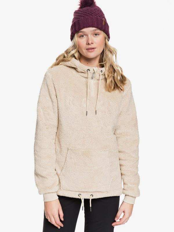 Pluma Sherpa - Half-Zip Sherpa Hoodie for Women  ERJFT03973