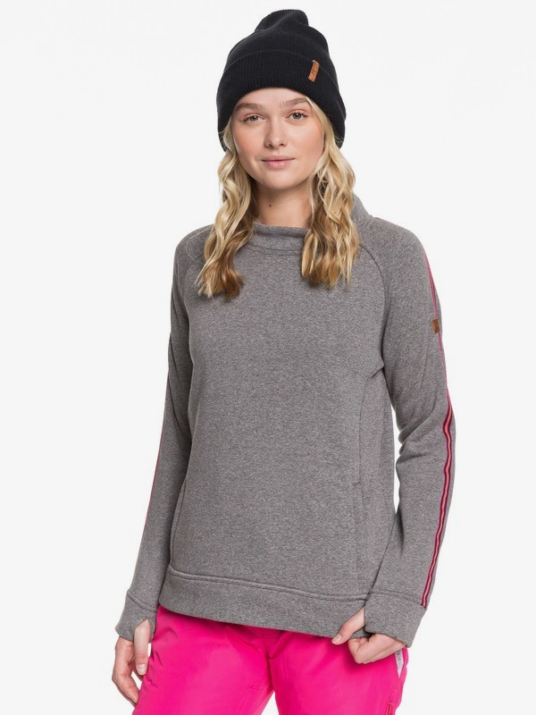 0 Resin Overhead - Technical Fleece for Women Black ERJFT03983 Roxy