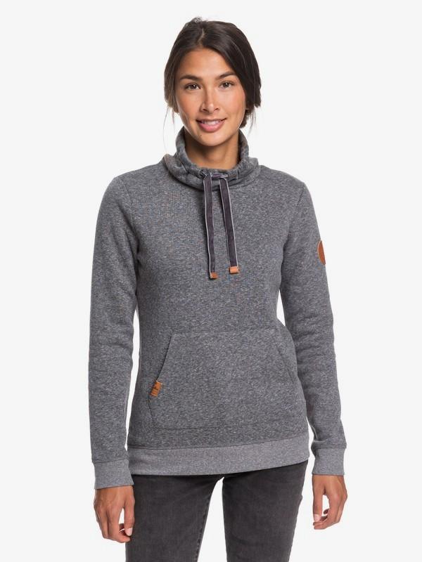 Worlds Away - Funnel Neck Sweatshirt for Women  ERJFT04070