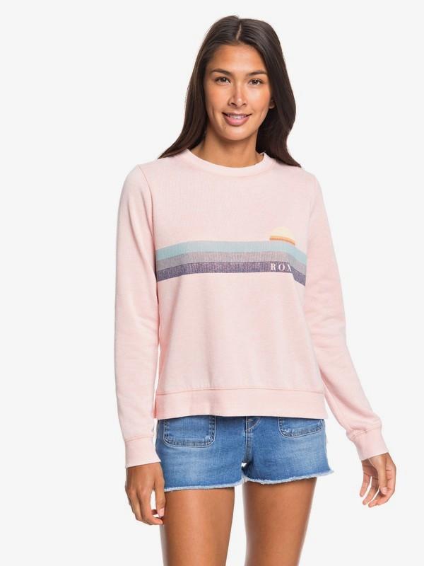 0 Want To Dance Sweatshirt Pink ERJFT04129 Roxy
