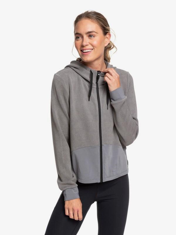 Only The Brave - Hooded Zip-Up Sports Fleece  ERJFT04149