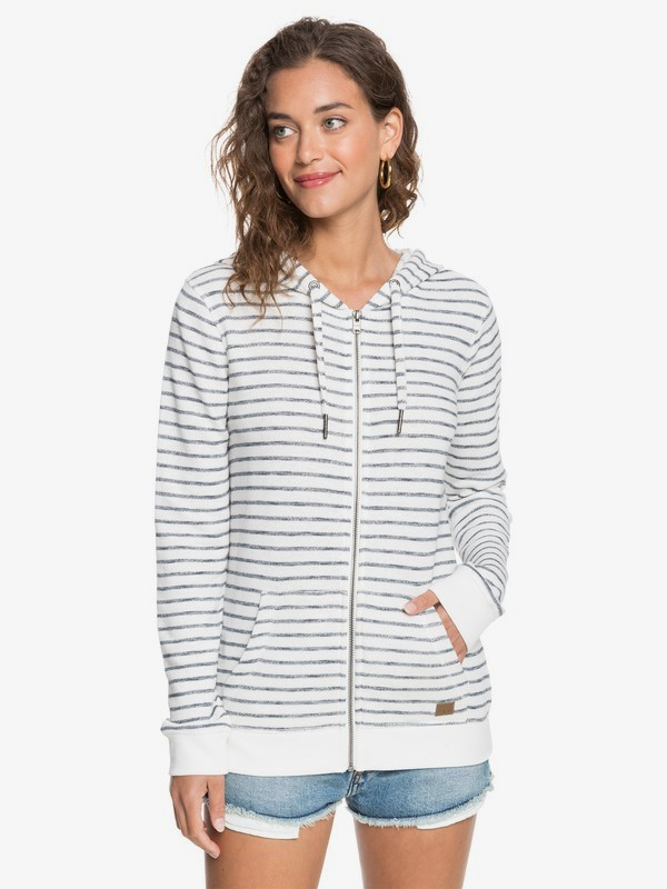 Trippin Stripes - Zip-Up Hoodie for Women  ERJFT04223