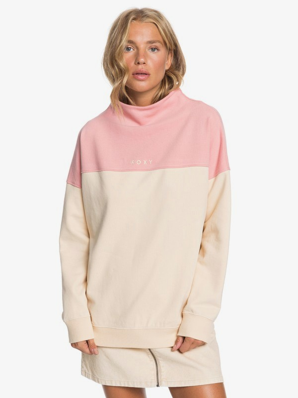 Mind Surf - High Neck Sweatshirt  ERJFT04256
