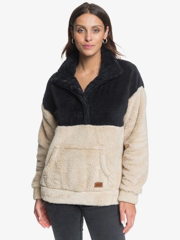 Dream Escape - Sherpa Half Snap Fleece for Women ERJFT04311
