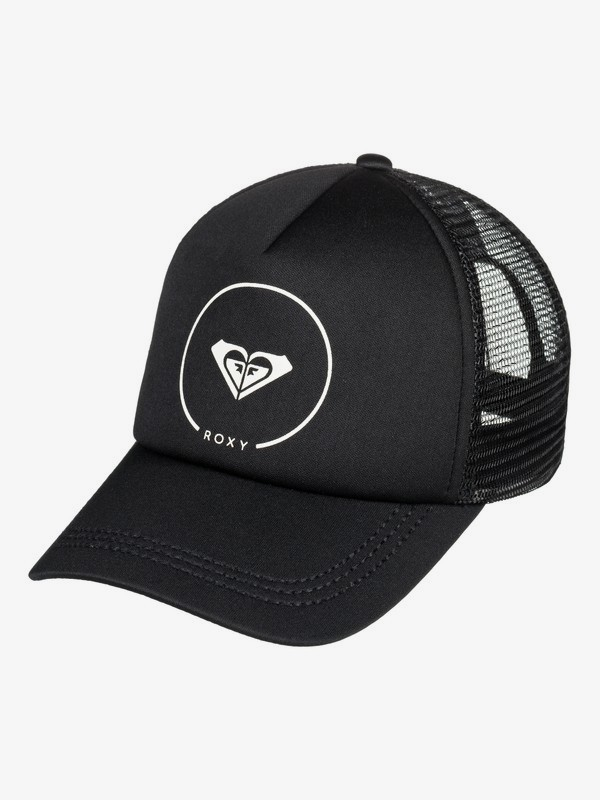 0 Truckin - Trucker Cap for Women Black ERJHA03315 Roxy