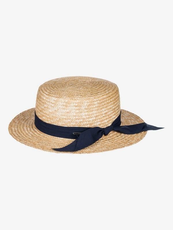 Dream Like A Travel - Straw Boat Hat for Women  ERJHA03383