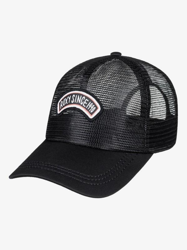 0 Your Baby Patch Trucker Hat Black ERJHA03474 Roxy