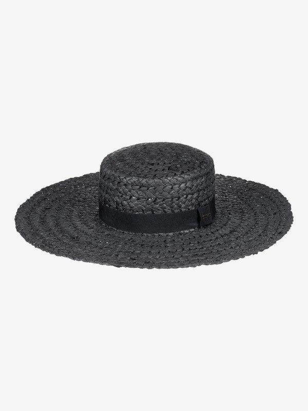 0 Poetic View Straw Sun Hat Black ERJHA03496 Roxy