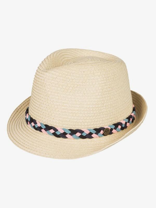 Sentimiento - Straw Trilby Hat for Women ERJHA03528