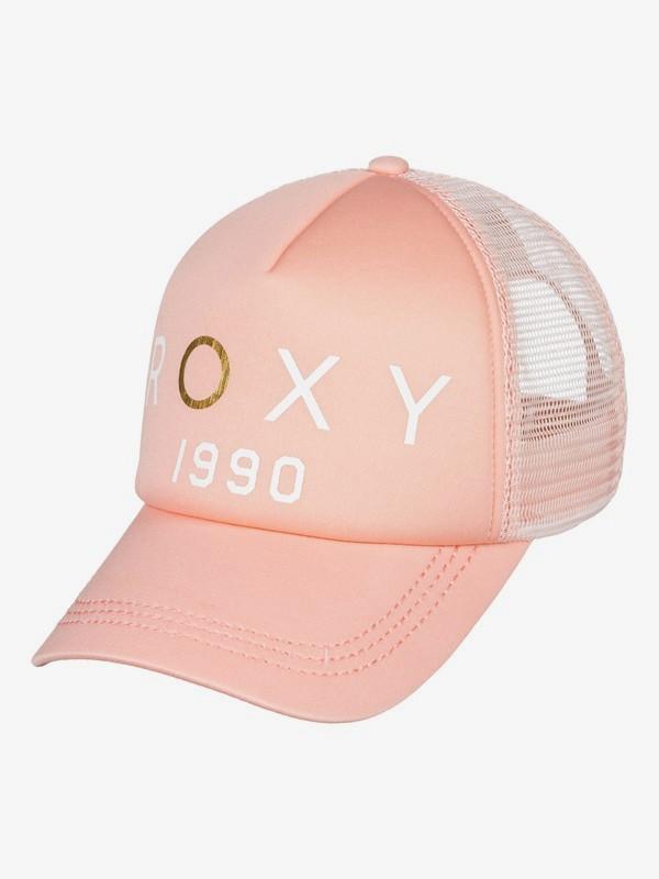 0 Truckin Color Trucker Hat Pink ERJHA03538 Roxy