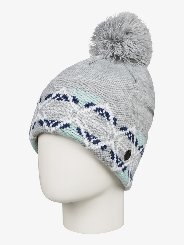 Lizzie - Pom-Pom Beanie for Women  ERJHA03554