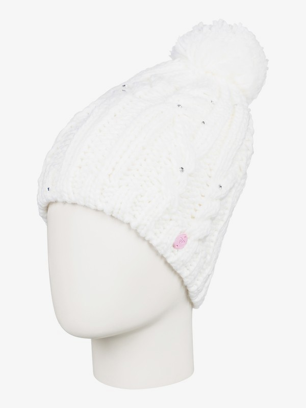 Shooting Star - Pom-Pom Beanie for Women  ERJHA03564