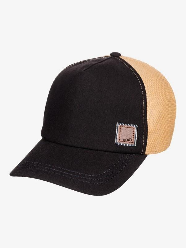 Incognito - Straw Trucker Cap for Women  ERJHA03614