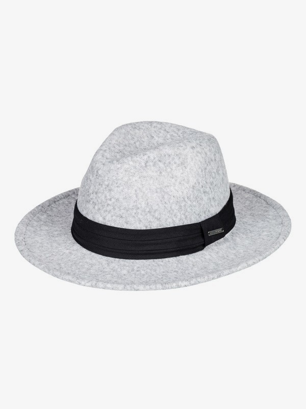 0 ROXY - Fedora Hat for Women Grey ERJHA03625 Roxy