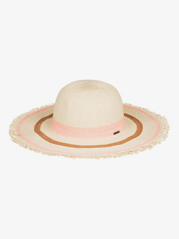 Sound Of The Ocean - Straw Capeline Sun Hat  ERJHA03697
