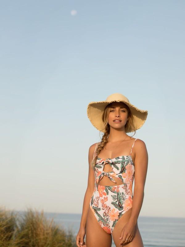 Retro Vibes - Straw Sun Hat  ERJHA03778