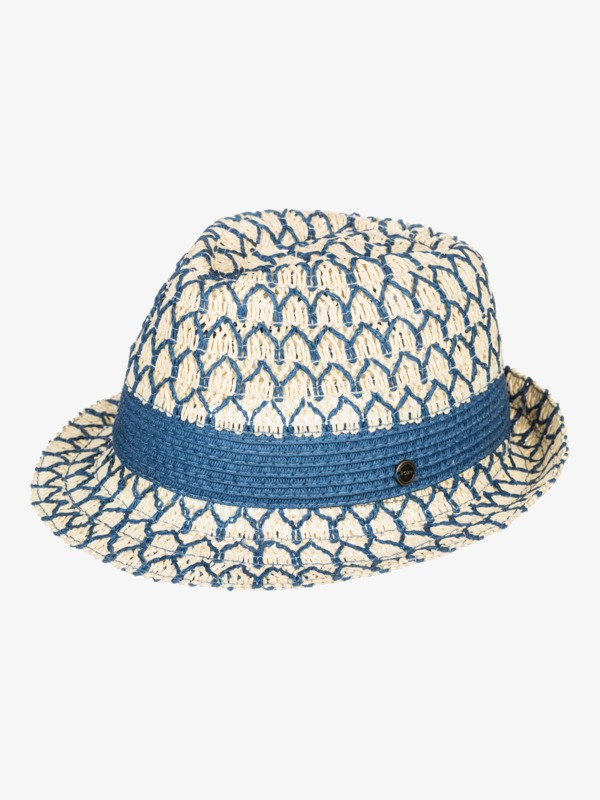 From The Clouds - Straw Trilby for Women  ERJHA03845