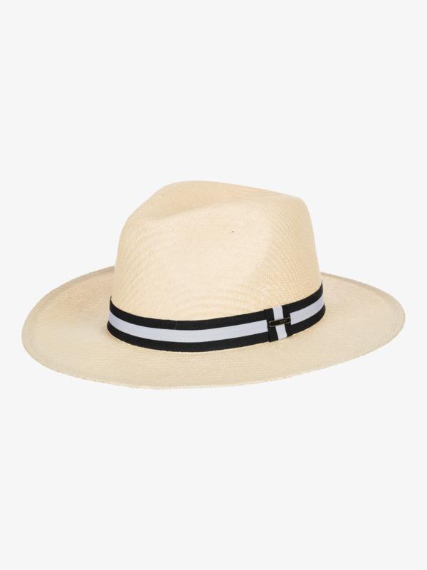 Here We Go - Straw Panama Hat for Women  ERJHA03850