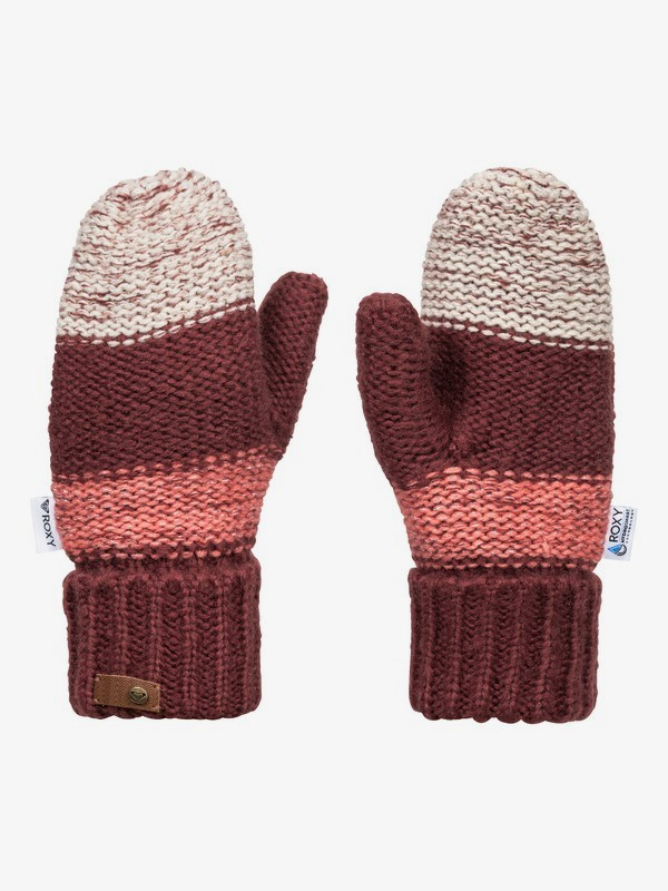 Shelby Block - Knitted Mittens for Women  ERJHN03171