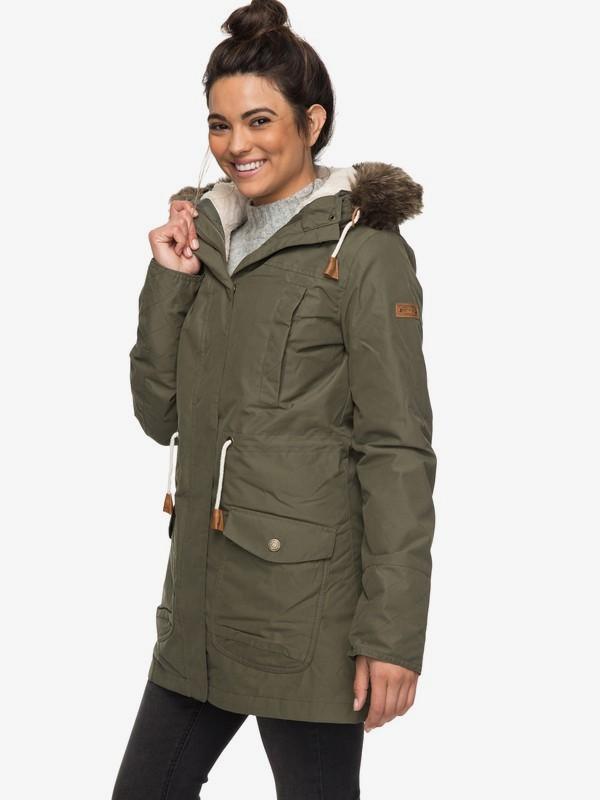 Amy  Waterproof Parka Jacket ERJJK03184