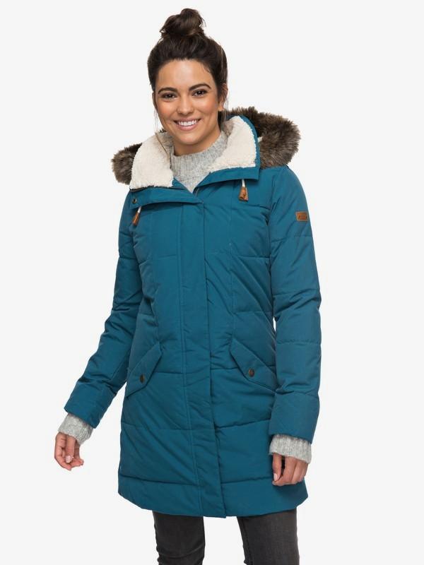 Ellie 5K - Waterproof Longline Hooded Jacket for Women  ERJJK03186