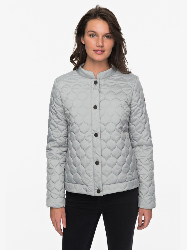 Funky Spirit - Quilted Puffer Jacket for Women  ERJJK03224