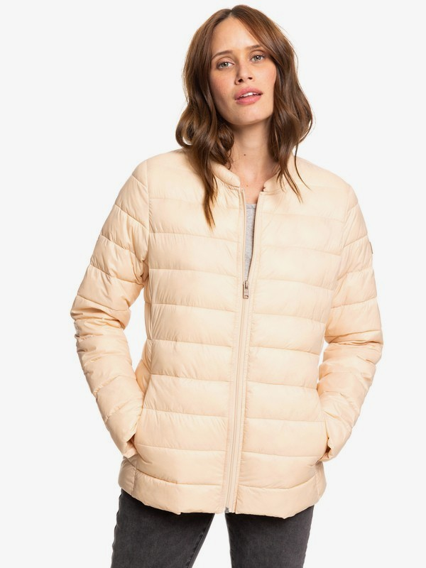 0 Endless Dreaming - Packable Lightweight Puffer Jacket for Women Beige ERJJK03252 Roxy