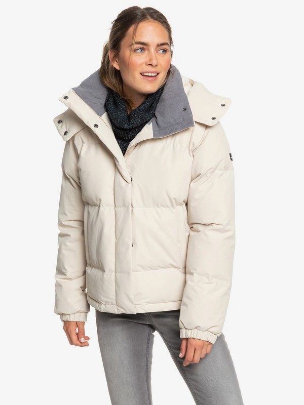 Hanna - Waterproof Hooded Puffer Jacket for Women  ERJJK03287