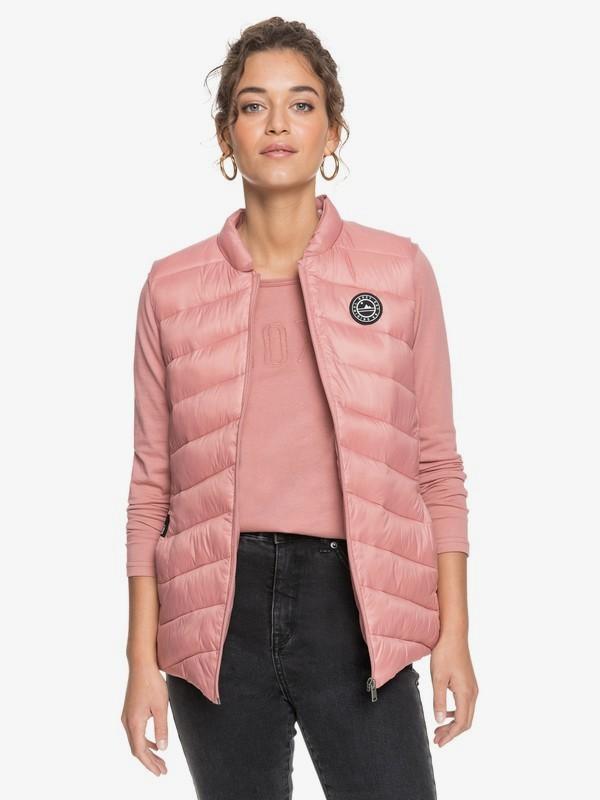 Coast Road - Water-Resistant Lightweight Packable Padded Vest for Women  ERJJK03386