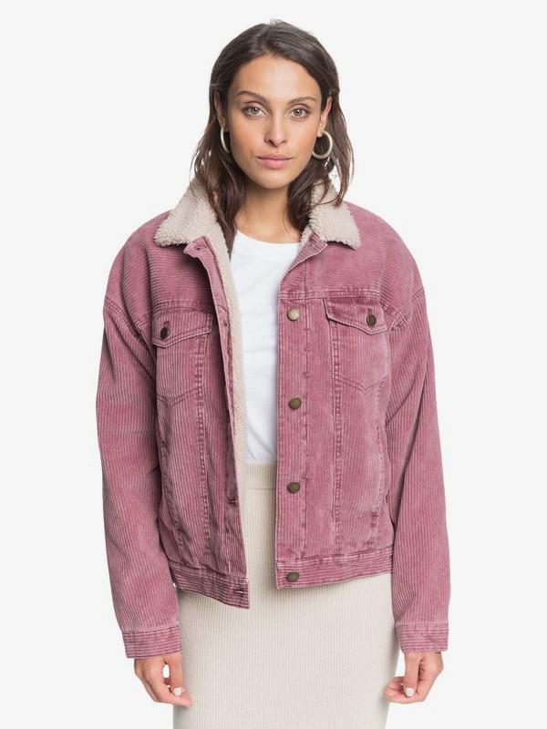 Good Fortune - Corduroy Trucker Jacket for Women  ERJJK03393