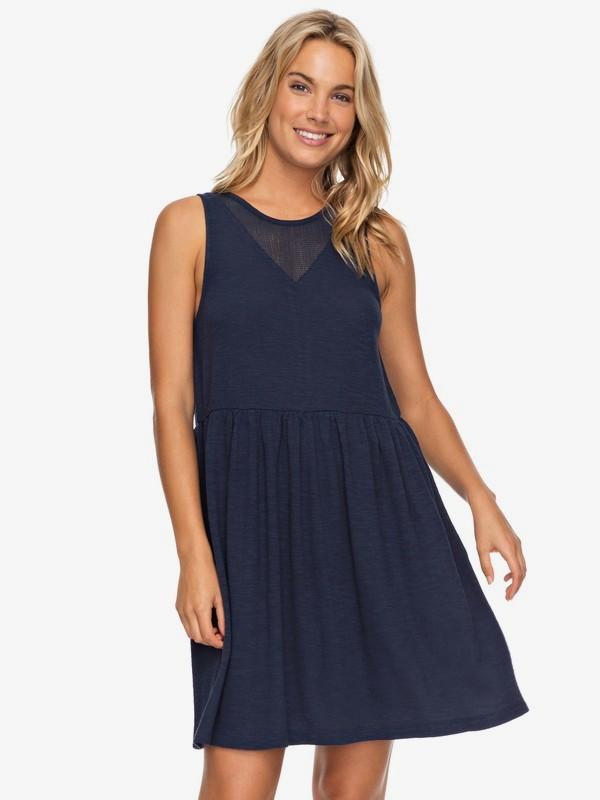 0 Tucson Tank Dress Blue ERJKD03183 Roxy