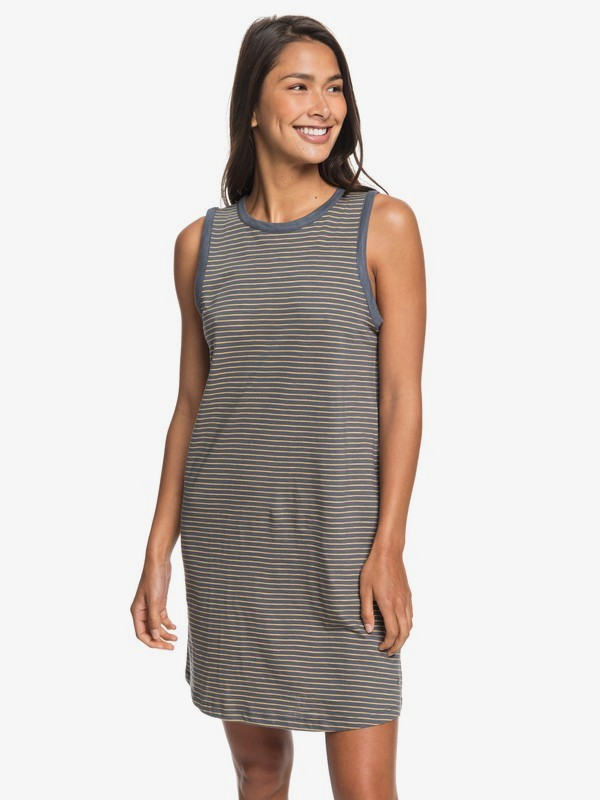 LOVE SUN TANK DRESS STRIPES  ERJKD03197