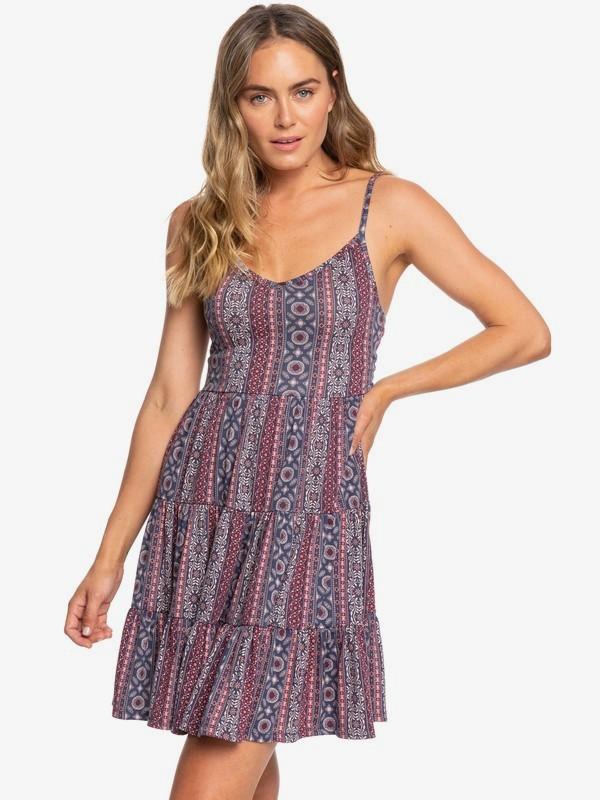 0 Heart Of Summer Strappy Dress Red ERJKD03290 Roxy