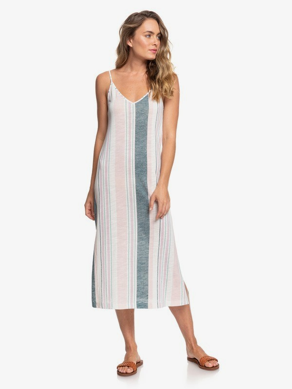 Avila Beach - Strappy Midi Dress for Women  ERJKD03301